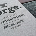 Forge Brands Letterpress
