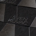 Black and Silver Business Card