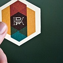 Hexagonal Business Cards