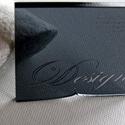 Plexiglass Business Cards
