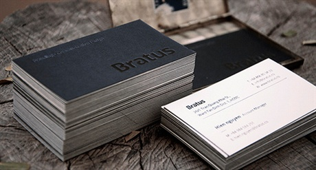Bratus Business Card business card