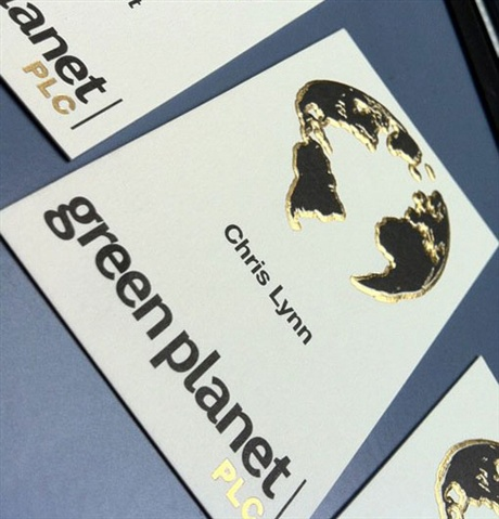 Green Planet business card