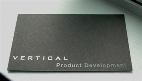 Vertical Product Development business card
