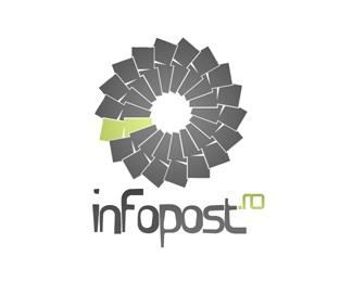 design,logo,infopost.ro logo