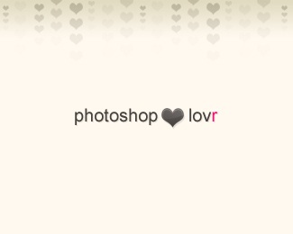 love,photoshop,tutorials,web 2.0 logo