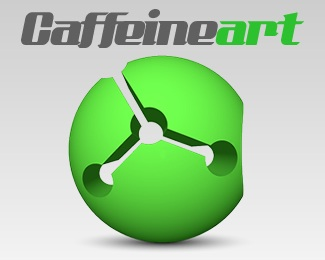 art,design,image,corporate identity,caffeine logo