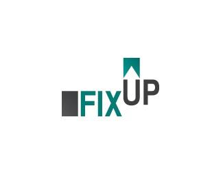 arrow,repair,up,fixup logo