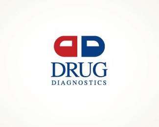 pill,drugs,pharmacy,diagnostic logo