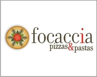 pizza,italia,focaccia,pastas logo