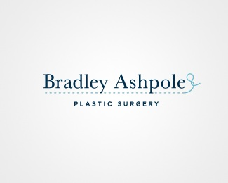 black,blue,surgeon,serif,thread logo