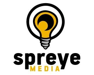 light,lightbulb,media,eye,light bulb logo