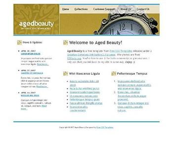 antique,clock website template