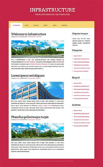 business,computers website template