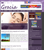 Gracia - Dating Wordpress Themes